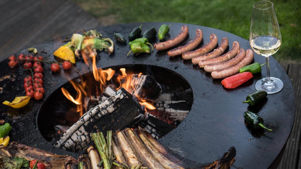 Braséros Grills en acier Corten chez Hegos – Jardin et Decoration ...